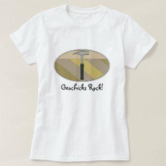 Geochicks Rock! Shirt