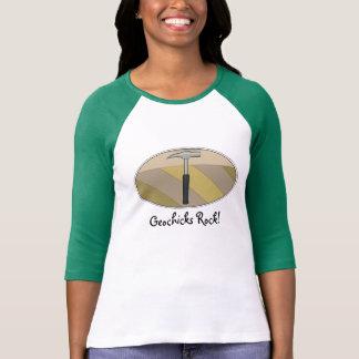 Geochicks Rock! Tee Shirt