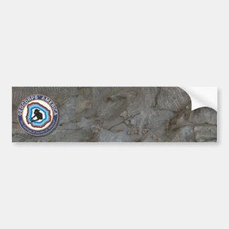 GeoCorps America - Paleontology Bumper Sticker
