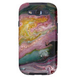 GEODE Abstract Case/Skin by Holly Anderson Art Galaxy SIII Case