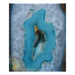 Geode Blue 1 Art Print -20x24 -other sizes also