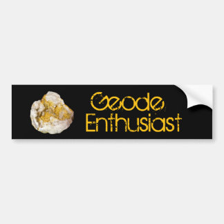 Geode Enthusiast Bumper Sticker