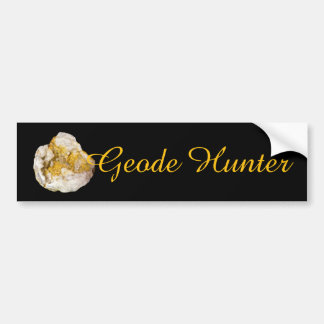 Geode Hunter Bumper Sticker