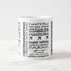 Geoengineering chemtrails toxic aerosols giant coffee mug