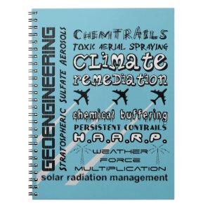 Geoengineering chemtrails toxic aerosols notebook