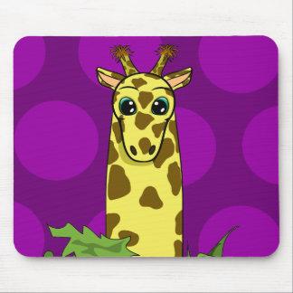 Geoff Giraffe Mouse Pad