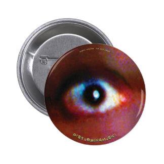 Geoff Westen - no estoy loco - observe el botón Pin Redondo De 2 Pulgadas