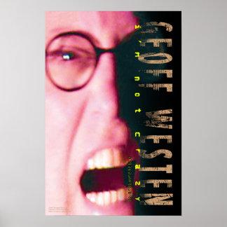 Geoff Westen's Screaming Head Poster