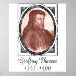 Geoffrey Chaucer Impresiones