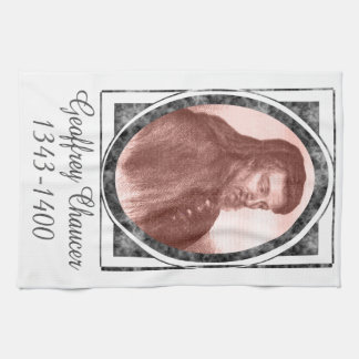 Geoffrey Chaucer Towel