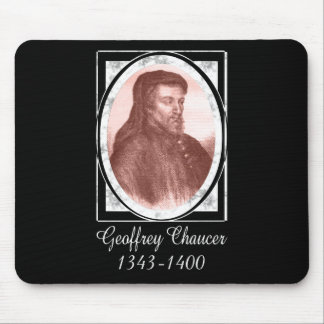 Geoffrey Chaucer Mouse Pad