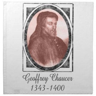Geoffrey Chaucer Cloth Napkins
