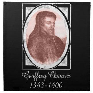 Geoffrey Chaucer Napkin