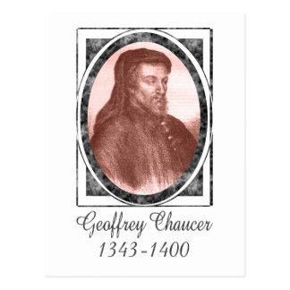Geoffrey Chaucer Postcard