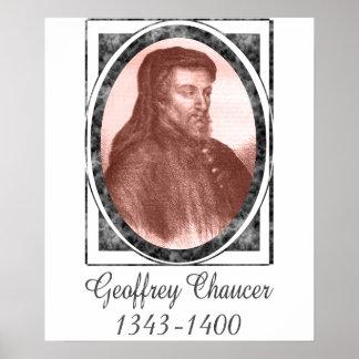 Geoffrey Chaucer Poster