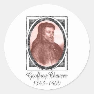 Geoffrey Chaucer Stickers