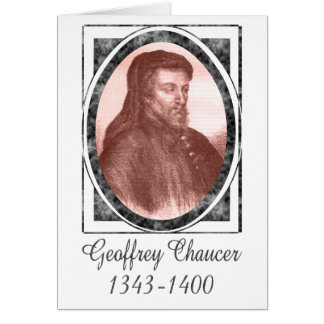 Geoffrey Chaucer Felicitacion