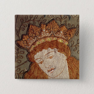 Geoffrey Chaucer's 'Legend of Good Women' Button