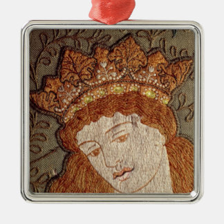Geoffrey Chaucer's 'Legend of Good Women' Metal Ornament