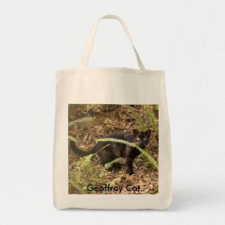 Geoffroy Cat-007, Geoffroy Cat Canvas Bag