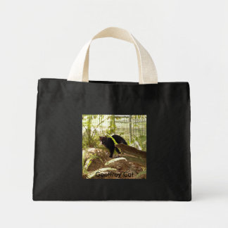 Geoffroy Cat-009, Geoffroy Cat Canvas Bag