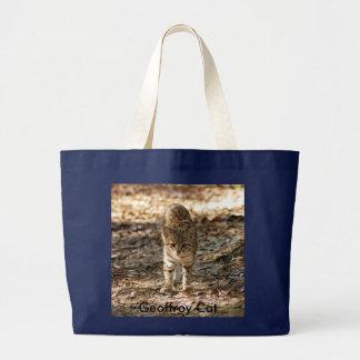 Geoffroy Cat-012, Geoffroy Cat Canvas Bag