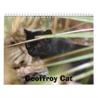 geoffroy-cat-014, Geoffroy Cat Calendar