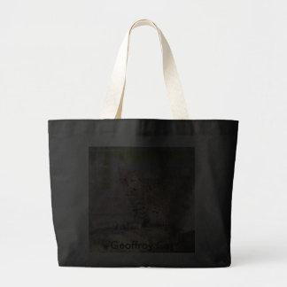 Geoffroy Cat-019, Geoffroy Cat Canvas Bags