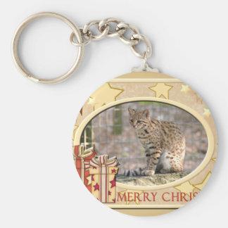 Geoffroy Cat-c-148 copy Basic Round Button Keychain