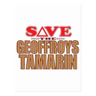 Geoffroy's Tamarin Save Postcard