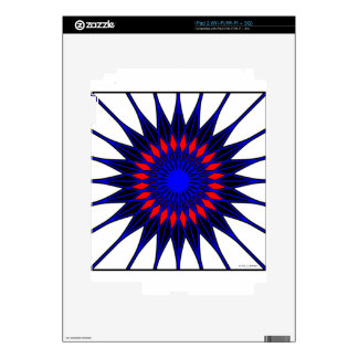 Geoflower Decal For The iPad 2