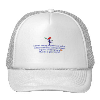GeoFriend Wanted Trucker Hat
