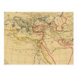 Geografía de Herodotus Tarjeta Postal