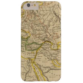 Geografía de las Edades Medias Funda Barely There iPhone 6 Plus
