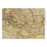 Geografía de las Edades Medias Tarjeta De Felicitación
