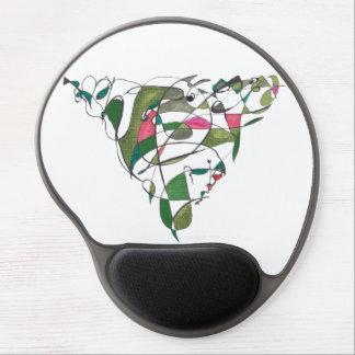 Geografía del diamante del artista Mikell van der  Alfombrilla Con Gel