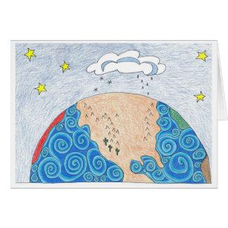 geografía física tarjeta pequeña