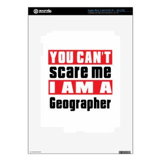 Geographer scare designs iPad 3 skins