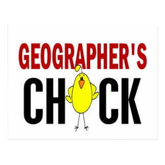 Geographer's Chick 1 Postcard