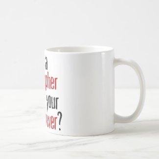 Geographer's mug