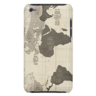 Geographical Distribution of Vegetation iPod Touch Case