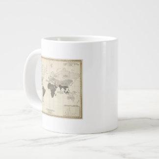Geographical Distribution of Vegetation Large Coffee Mug