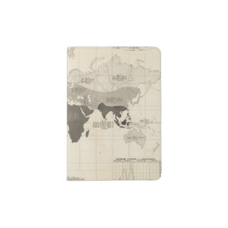 Geographical Distribution of Vegetation Passport Holder