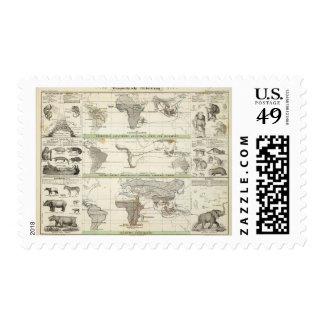Geographical Distribution Postage