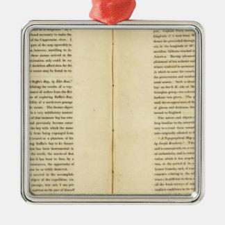Geographical Memoir 3 Metal Ornament
