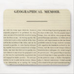 Geographical Memoir 4 Mouse Pad