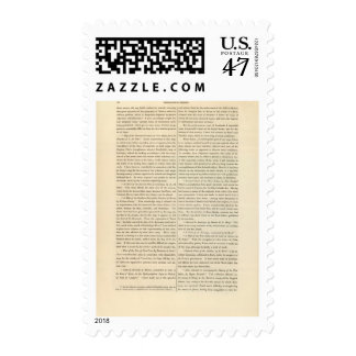 Geographical Memoir continued 4 Postage Stamp