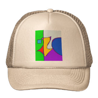 Geographical Summer Trucker Hat