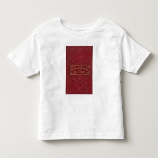 Geographical view of Texas Toddler T-shirt