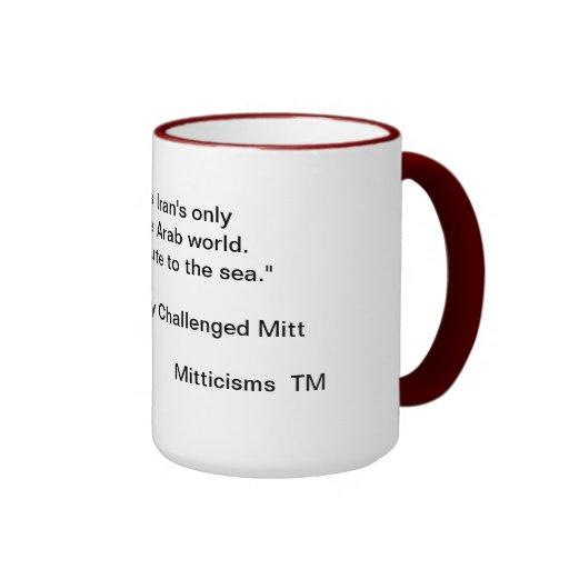 Geographically Challenged Mitt Ringer Coffee Mug